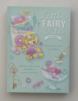 Q-Lia Mini Memo Pad Little Fairy Tale | Rapunzel