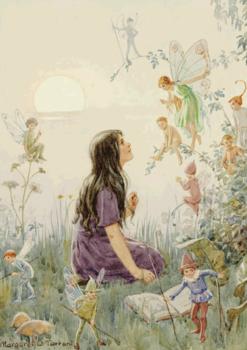 Postcard Margareth W. Tarrant | Fairy Secrets