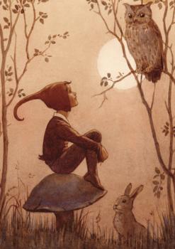 Postcard Molly Brett | The Brownie