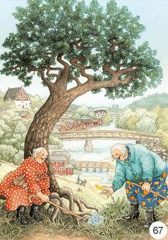 Inge Look Nr. 67 Postcard | Old Ladies Aunties