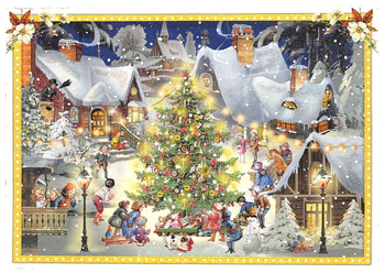 Postcard Edition Tausendschoen Merry Christmas