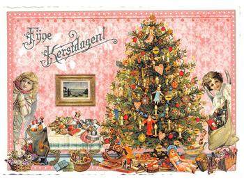 Postcard Edition Tausendschoen Christmas - Fijne kerstdagen