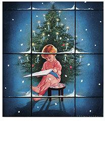 Postcard | Jan Lavies - omslag kerstnummer