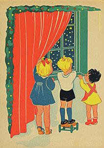 Postcard | Tekenaar: Henny Box Ca. 1935