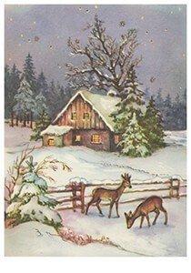 Postcard | Sneeuwlandschap