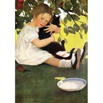 Postcard | I love little Pussy, 1910