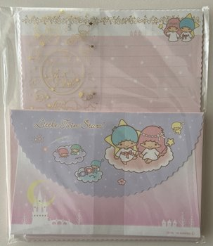 Sanrio Little Twin Stars Japan Exclusive letter set