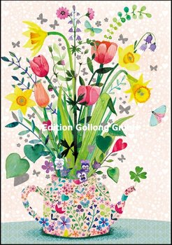 Mila Marquis Double Card | Spring blossoms in a jug