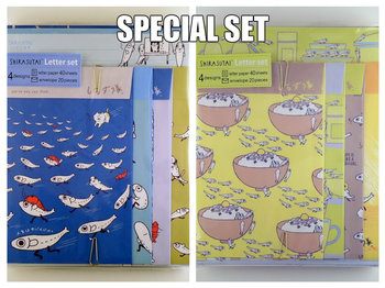 SPECIAL SET San-X Shirasutai letter set | Life is like a survival