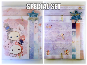 SPECIAL SET San-X Sentimental Circus Letter Set | Starlight Spica Series