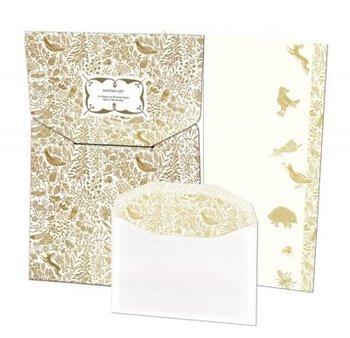 Writing Set | Gold, Floor Rieder