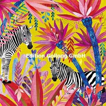 Mila Marquis Postcard | Zebras