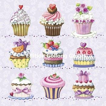Nina Chen Postkarte | Cupcakes