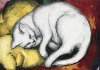 Museum Cards Postcard | The white cat