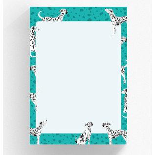 A5 Letter Paper Pad crissXcross | Dalmatian