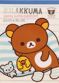San-X Rilakkuma Memo Pad - Shima Shima Everyday