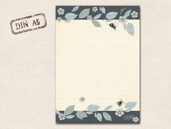 A5 Letter Paper Pad TikiOno | Apfelblüte
