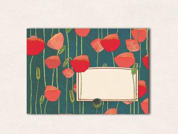 10 x Envelope TikiOno | Mohn