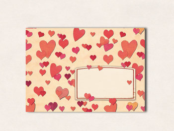 10 x Envelop TikiOno | Zuckerherzen