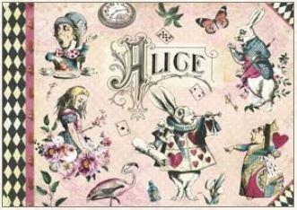 Geïllustreerd notebook Gwenaëlle Trolez Créations - Alice