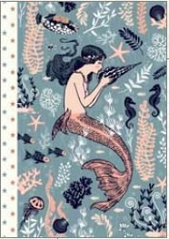 Illustrated little notebook Gwenaëlle Trolez Créations - Sirene