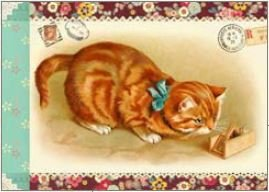 Geïllustreerd schriftje Gwenaëlle Trolez Créations - Chats