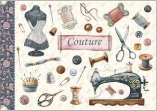 Geïllustreerd notebook Gwenaëlle Trolez Créations - Couture