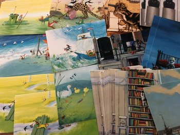 SURPRISEBAG of 10 Postcards