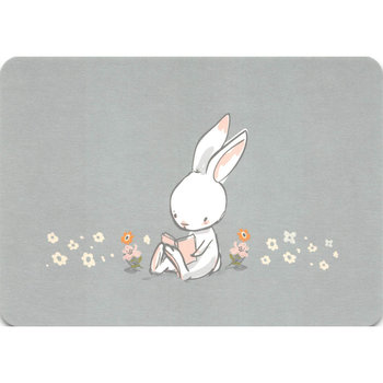 Postcard Gutrath Verlag | Reading Bunny
