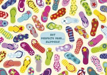 Lali Postcard | Zoekopdracht Het perfecte paar slippers!