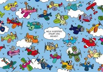 Lali Postcard | Zoekopdracht Welk vliegtuig stuurt jou kusjes?