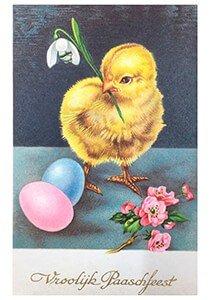 Victorian Postcard | A.N.B. - Vroolijk Paaschfeest