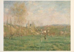 Postcard | Claude Monet - Printemps