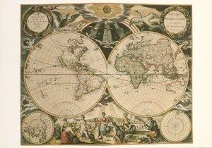 Postcard | De zee-atlas ofte water-wereld van Pieter Goos