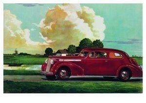 Postcard | Charles Burki - Driving through lowlans