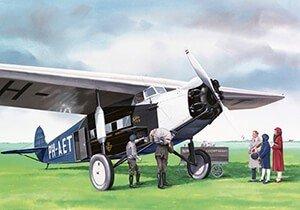 Postcard | Fokker F.7A