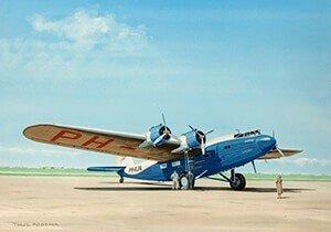 Postcard | Fokker F.36