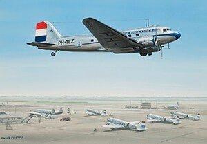 Postcard | Douglas DC-3 / C-47 Dakota