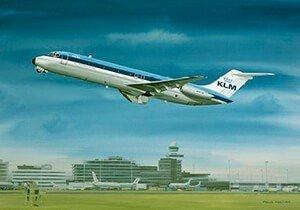 Postcard | Douglas DC-9-30