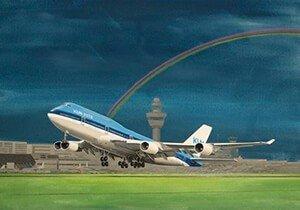 Postcard | Boeing 747-400