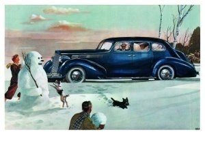 Postcard | Charles Burki - Winter fun