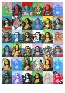 Postcard | Paul Giovanopoulos - Mona Lisa