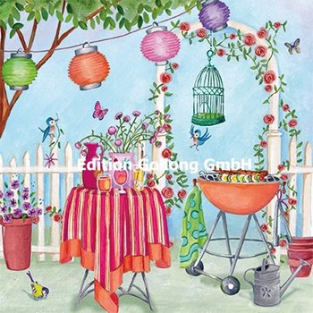 Cartita Design Postcard | Garden Party