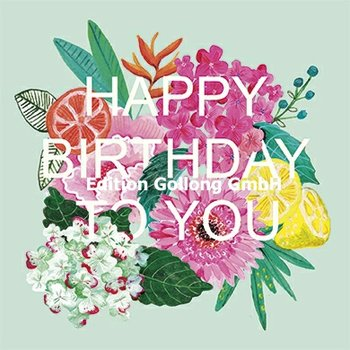 Cartita Design Postcard | Happy Birthday (flowers)