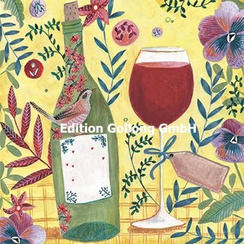 Cartita Design Postcard | Wine