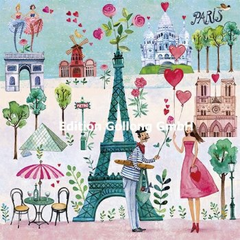 Mila Marquis Postcard | Paris