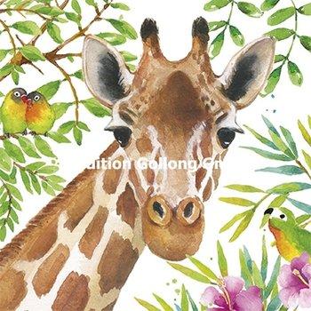 Carola Pabst Postcard | Giraffe