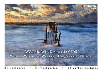 Tushita Postcard Book | Water, Wind and Clouds
