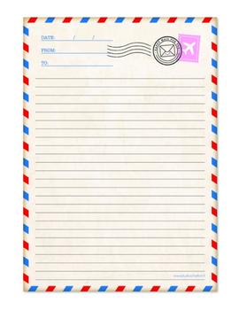 A4 Letterpad Studio Schatkist | Airmail