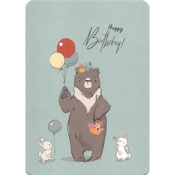Postcard Gutrath Verlag | Birthday Bear